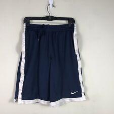 Nike Dri Fit Basketball Shorts Men's Small Blue Athletic Shorts