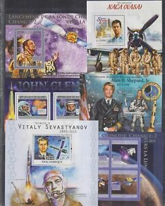 C903. 6 Difirent items - MNH - Space