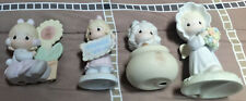 Vintage' Precious Moments *(Lot Of Four)* Young Girls Assorted Figurines