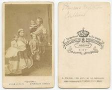 PRINCESS ROYAL VICTORIA & FRIEDRICK WITH CHILDREN, BRITISH ROYAL FAMILY CDV