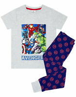 Marvel Avengers Superhero Boy's Long Pyjamas