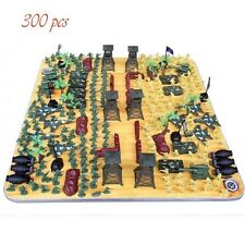 CHBR03 300pcs Military Toy Soldiers Army Men Figures & Accessories Playset NEW