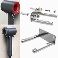 For Dyson Supersonic Stainless Steel Wall Mount Bracket Hair Dryer Holder Stand