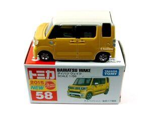 TOMICA / #58 Daihatsu Wake (Yellow).