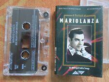 Mario Lanza A Portrait Of Mario Lanza. Stylus Music SMC741 Tape Cassette Album