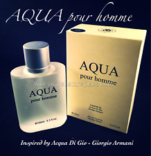 Aqua Pour Homme by Royal Fragrance (Insipred by Acqua Di Gio Armani) 3.3 oz