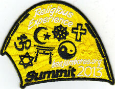 2013 National Jamboree Promo Tent Patch Series, Religious Experience, Mint!