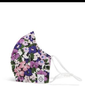 Vera Bradley FLOWER GARDEN Cotton FACE MASK New & Sealed **MAKE OFFER**
