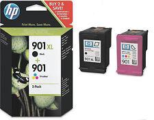 Original HP 901xl + 901 cartuchos para impresora j4624 j4680 set