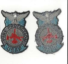 U.S. AIR FORCE PATCH -  USAF FIRE PROTECTION - SUBDUED