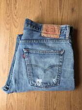 """Homme LEVI'S JEANS LEVIS 582 conique DEL Denim Vintage Work Wear W: 36"""" L: 32"""""""