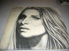 BARBRA STREISAND LIVE CONCERT AT THE FORUM LP EX Columbia KC31760 1972 w/Poster