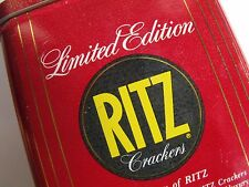 Vintage ... Nabisco Limited Edition 1986 Tin .... Ritz Crackers!!