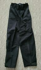 Mint Performance Men's Gore-Tex Black Cycling Pants Windproof Waterproof Small S