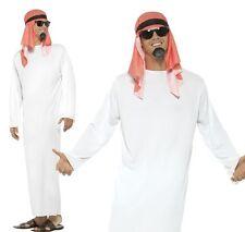 Mens Arab Tunic Fancy Dress Costume Middle East Arabian Sheikh Smiffys 24805 L - Large