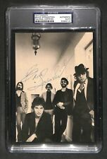 """Bruce Springsteen """"The Boss"""" Vintage 1970s Signed Autographed photo PSA/DNA rare"""