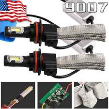 2pcs 9007 HB5 LED Headlight Bulb High Low Beam 80W 8000LM Light HID 6000K