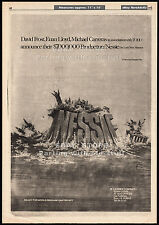 NESSIE_The Loch Ness Monster__Original 1976 Trade AD promo_poster__HAMMER horror