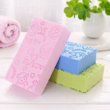 Adult Kid Soft Exfoliating Body Skin Shower Spa Brush Washing Sponge Pad New
