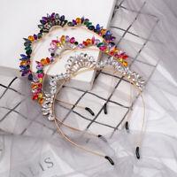 Baroque Women's Embellished Headband Jewelled Hairband Wedding Crown Tiara Party