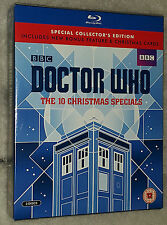 Doctor Who - The 10 Christmas Specials Limited Edition Blu-ray Box Set + Cards