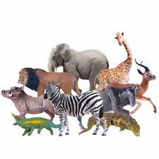 PNSO Lion Zebra Cheetah Rhino Antelope Crocodile Africa Animal Figure Toy Gift