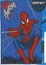 Marvel Amazing Spiderman Micro Plush Fleece Throw Blanket - 50 in x 60 in
