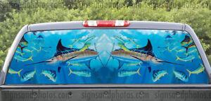 Rear window graphics Marlin Fishing-2