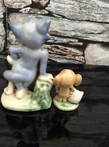 vintage wade whimsies Tom & Jerry