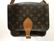 Auth LOUIS VUITTON Cartouchiere MM M51253 Monogram Canvas 894RJ.
