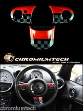 MINI Cooper/S/ONE JCW Style MF Steering Wheel Cover R55 R56 R57 R58 R59 R60 R61