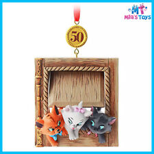 Disney The Aristocats 50th Anniversary Legacy Sketchbook Ornament brand new