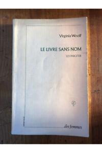 Le livre sans nom : les Pargiter Virginia Woolf