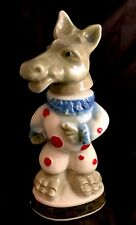 Antique Jim Beam Decanter Democrat Donkey Tax Stamp Trophy 1968