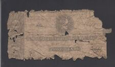 Confederate Currency 2 Dollars 1860' @ @