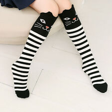 Women Girls Lovely Cartoon Animal Thigh Stockings Over Knee High Long Socks