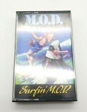 MOD Method of Destruction Surfin MOD Cassette Tape w/ Insert & Case Megaforce