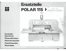 polar paper cutters trimmers for sale ebay rh ebay com Heidelberg Polar Cutter Parts Polar Cutter Parts