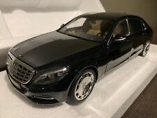 AUTOart 76293 MERCEDES BENZ MAYBACH S CLASS S600 BLACK 1:18 *Mint Condition*