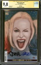Harley Quinn #63 Variant CGC 9.8 SS Signed Frank Cho and Sam Humphries DC Comics