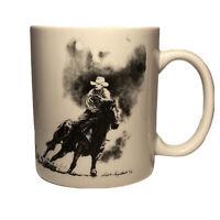 U.S. OLD WEST - CATTLE DRIVE, Ceramic Coffee Cup / Mug, Vintage