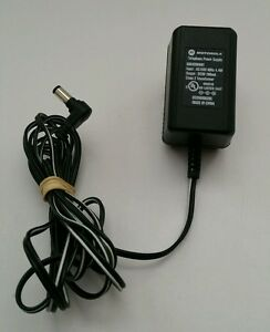 Motorola Telephone Power Supply AC Adapter 9V DC 60 Hz Model 5864200W01