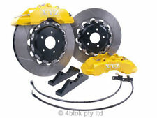 VT VX VY VZ Yellow big brake upgrade kit front 6 Pot 355mm Holden Commodore XYZ
