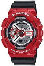 CASIO G-Shock G Shock  GA-110GB Armbanduhr Black Red Neu & Ovp - GB Schwarz Rot