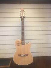 Godin Multiac Steel Duet 2005 Natural Electro Acoustic Guitar