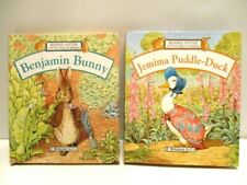 2 Small Pop-Up books Benjamin Bunny & Jemima Puddle Duck Beatrix Potter
