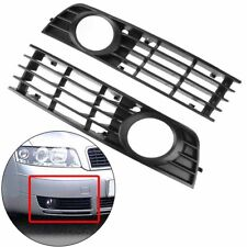 For 2002-2005 Audi A4 B6 Front Lower Bumper Fog Light Driving Lamp Grill Cover