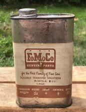 Vintage Original FoMoCo Ford Motor Mercury Lincoln Thunderbird Auto Car Tin Can