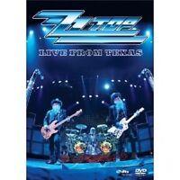 """ZZ TOP """"LIVE FROM TEXAS"""" DVD ROCK NEU"""