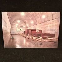 Vintage Post Card Back Chamber Of The Underground Palace Ding Ling Beijing China